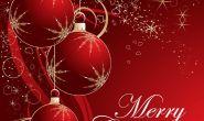 Merry Christmas  + openingstijden feestdagen